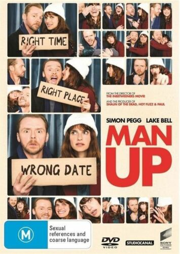 1 of 1 - Man Up (Dvd) Comedy, Drama, Romance Simon Pegg, Lake Bell, Keir Charles Movie