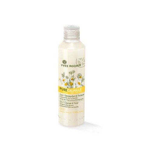 Yves Rocher Pure Calmille 2 in 1 Cleanser & Toner