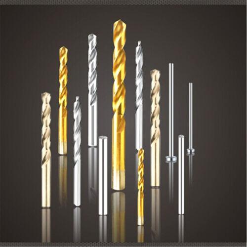 1pcs Ti boutique full taper shank twist drill  Ø9.7 HSS Drill Carbide tool