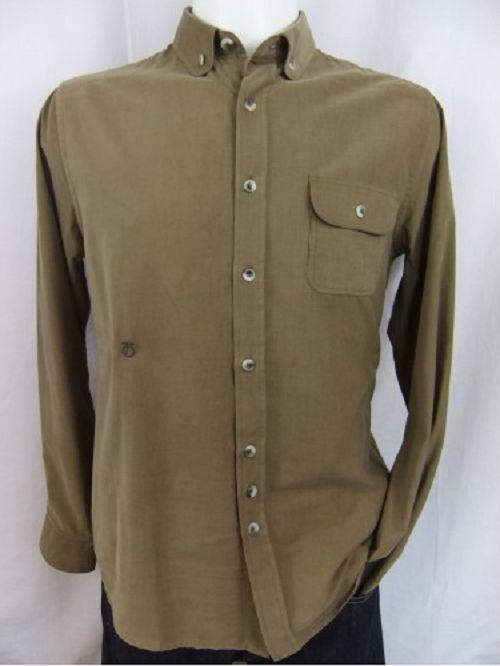 Peter Werth Baby Cord Shirt Masefield Sand Größes Medium BNWT    Qualität und Quantität garantiert    Schönes Design    Vorzüglich