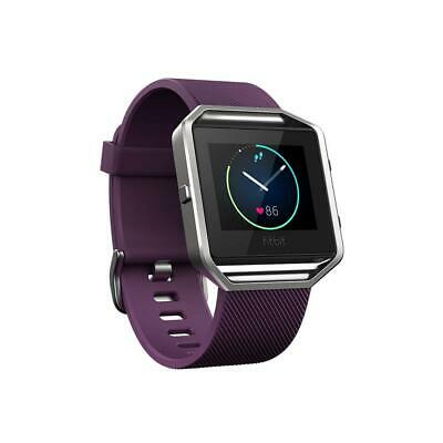 Fitbit Blaze Activity Tracker - Large - Plum & Silver - Refurbished