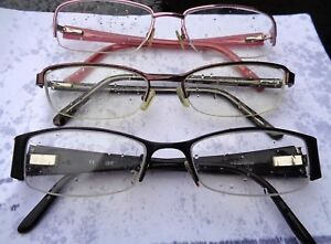 0081fc0f7d80 Burberry Safilo Armani Exchange Candie's lot of 3 eyeglass frames ...