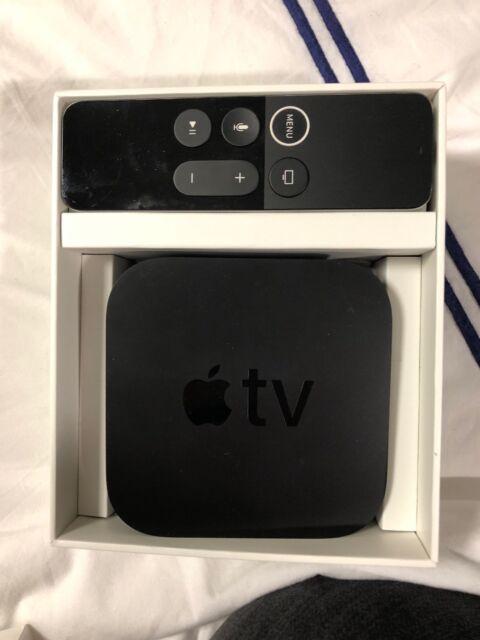 Apple TV 32GB 4K HD Media Streamer - Black (MQD22LL/A) for
