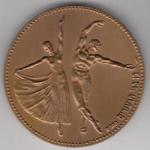 Israel-1993-034-Youth-034-State-Medal-59mm-98gr-Bronze-COA