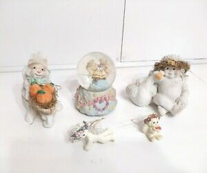 Lot of 5 Vintage Collectable Dreamsicles Figurines From 1990's to Early 2000's