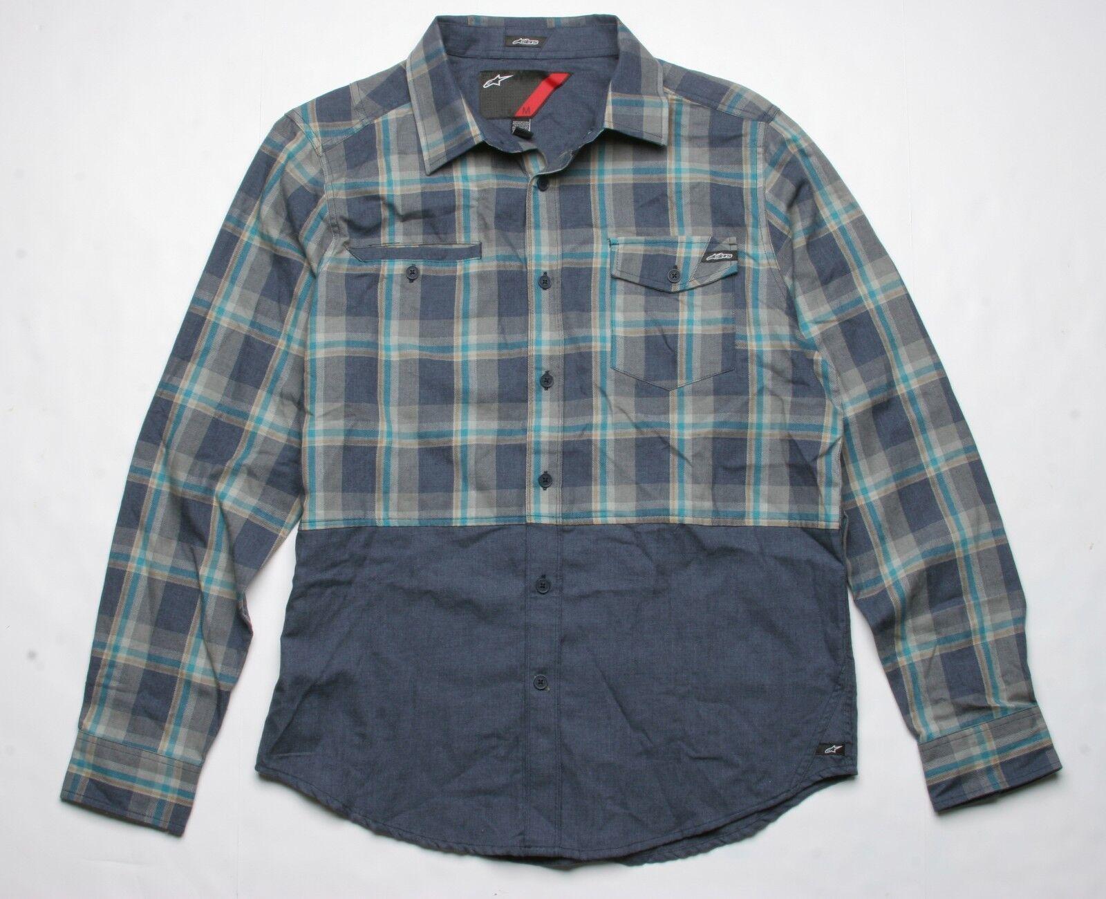 Alpinestars Centaur Long Sleeve Shirt (M) Navy