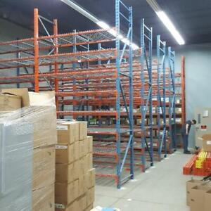 Industrial Shelving - Pallet Racking - Guardrail - Mezzanine - Cantilever - Wire Partition Muskoka Ontario Preview