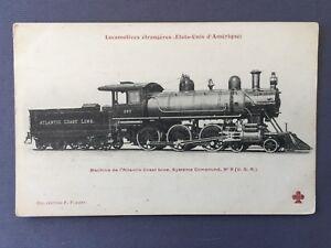 1915-STEAM-LOCOMOTIVE-N-267-Atlantic-Coast-Line-Railroad-COMPOUND-N-9-TRAIN