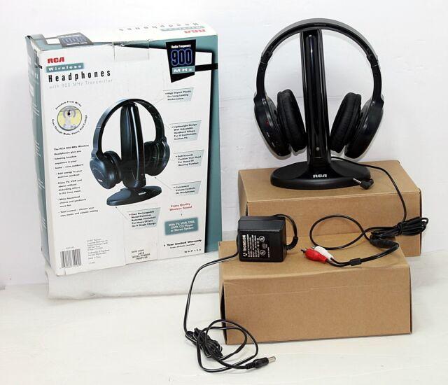 Rca 900 Mhz Wireless Stereo Headphones