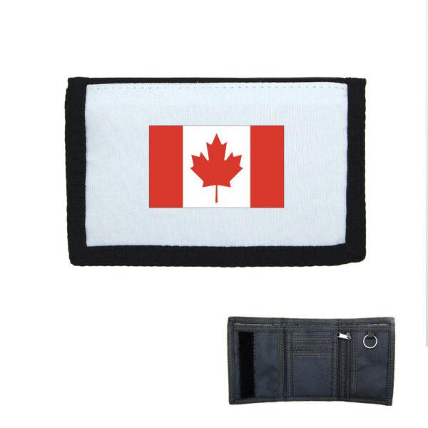 Porte-monnaie à Scratch Portefeuille Drapeau Canada Novel (In) Design;