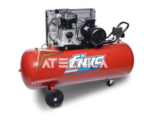 Compressore d/'aria a cinghia 200L FIAC AB 200-360 M 230V 3HP 2,2KW professionale