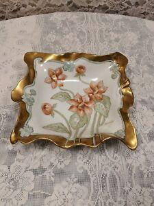 Limoges-Signed-Hand-Painted-Elite-Works-Nut-Dish