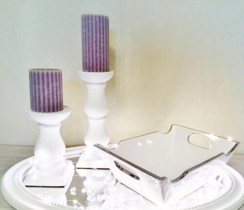 Céramique bol bol design bol salade de fruits blanc argent