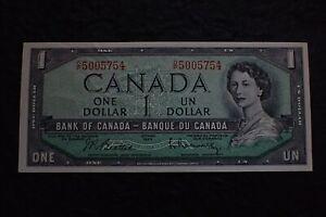 1954-1-Dollar-Beattie-Rasminsky-Canada-O-P-754-BC-37-i
