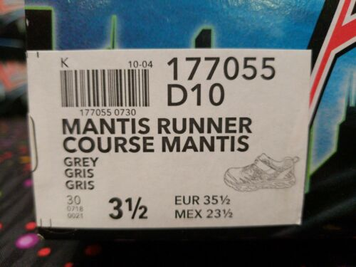 Airators 177055 Mantis Runner Sneakers Junior Boy Shoes Size:1 New With Box