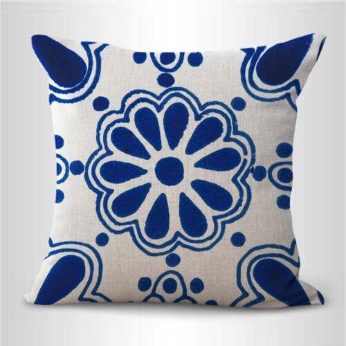 US SELLER Azulejo Spanish Mexican talavera furniture cushion covers