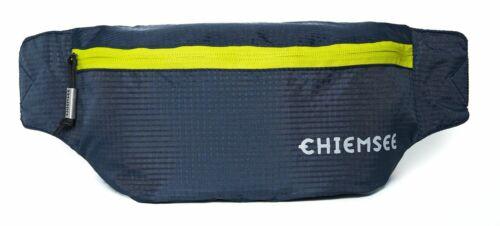 CHIEMSEE Waist Bag Gürteltasche Umhängetasche Tasche Black Iris Blau Gelb Neu