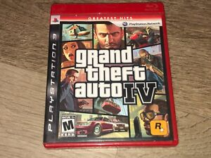 Grand Theft Auto IV 4 PlayStation 3 PS3 w/Manual & Case Authentic
