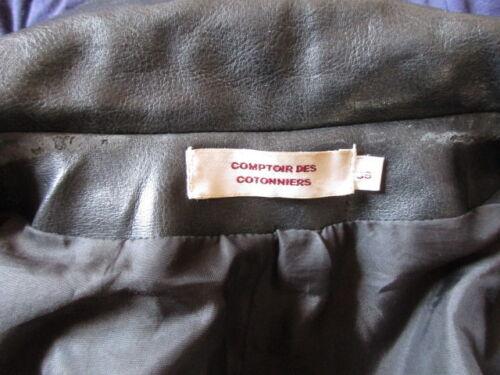 Des À 36 Comptoir Noir Veste 67 Taille Cotonniers Style Cuir qtxZZTF