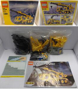 Gioco-Game-LEGO-Set-TECHNIC-Completo-8438-1-Play-2003-Pneumatic-Crane-Truck