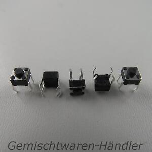 5x-Mikrotaster-Mikroschalter-AUS-EIN-6-x-6-x-5-mm-0-05A-12V-Drucktaster-mini