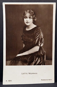 Lotte-Neumann-Ak-Photo-Postcard-Photo-Postcard-Lot-5554