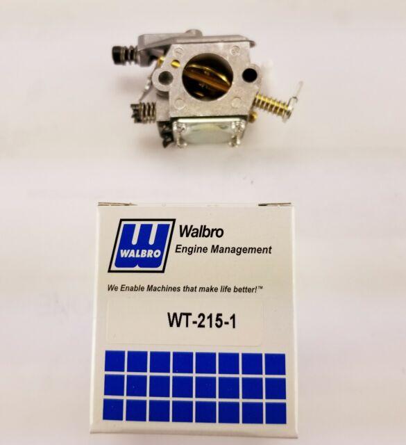 GENUINE Walbro Carburetor WT-215 Stihl 1123-120-0605 FREE SHIPPING!