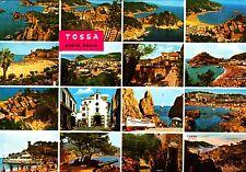 Tossa, Costa Brava, postal, 1990 corriendo