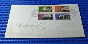 1998 Singapore First Day Cover Historical Buildings Commemorative Stamp Issue