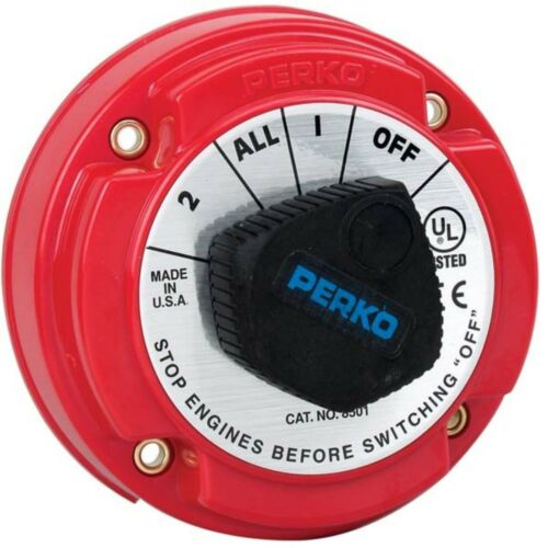 Perko 8501DP 250A Battery Selector Switch For 12//24//36V