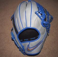 "Nike Shado Pro 11.5"" Mens RHT Baseball Glove Grey Black Blue BF1754 012"