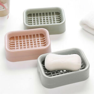 Merveilleux Image Is Loading Practical Double Layer Bathroom Soap Dish Case Holder
