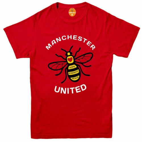Manchester Worker Bee A City United T-Shirt Choice of Colours