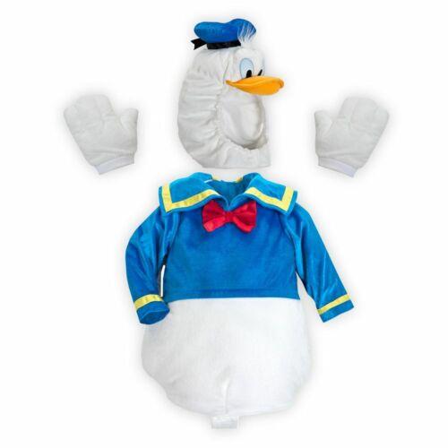 Disney Store Donald Duck Deluxe Baby Costume Boys 3 6 12 18 24 Months