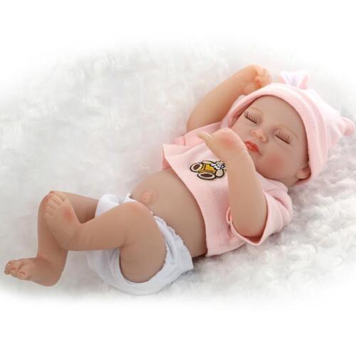 Realistic Newborn Baby Vinyl Silicone Realistic Reborn Dolls Handmade New Brand