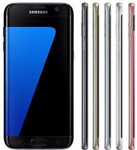 Samsung Galaxy S7 EDGE Duos SM-G935FD (FACTORY UNLOCKED) Black Blue Silver Gold