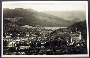 Gernsbach-in-Murgtal-Old-Ak-Postcard-Y-3107