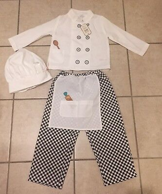 Nwt Disney Store Chef Cook Ratatouille Rat Mouse Fancy Dress Costume 3 5 Ebay