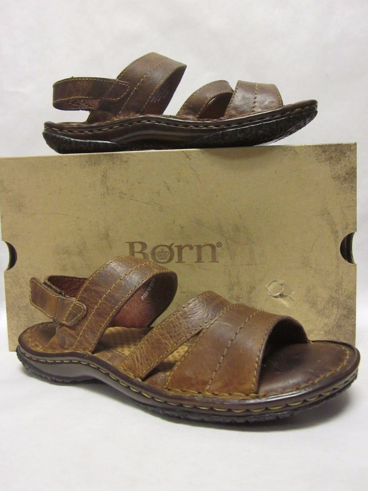 b38e48ee0f851 Born Born Born Peru Brown Distressed Sandal 290cd3 - mimhv ...