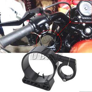 """Chrome 16/"""" Side Speedometer 39mm Bracket for Harley Sportster XL 883 1200 48 72"""