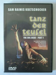 DVD-Tanz-der-Teufel-The-Evil-Dead-Part-1-Sam-Raimi