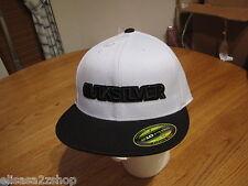 Mens Quiksilver cap hat 210 fitted flexfit S/M 6 7/8-7 1/4 dirty bird HTR 852104