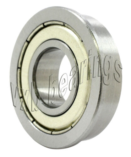 "SFR155ZZ Flanged Bearing 5//32/""x5//16/""x1//8/"" inch Stainless Steel Shielded Miniatur"