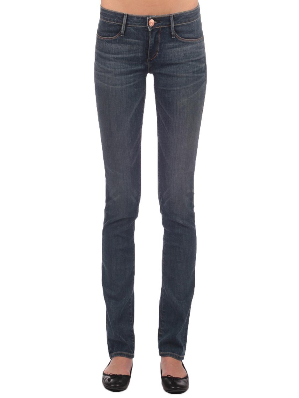 Earnest Sewn Jeans 27 Decca Straight Leg Dark Wash NWOT