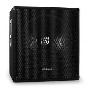 DJ-PA-SUBWOOFER-ACTIF-SONO-DISCO-CAISSON-DE-BASSES-AMPLIFIE-38CM-15-034-600W-MAX