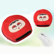 USB Laptop Soft Warm Cute Cartoon Opitical Mouse Pad Mouse Mice Mat Mousepad