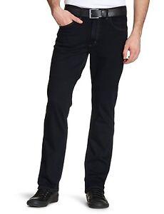 New Mens Lee Brooklyn Stretch Denim Jeans Regular Fit Basic Straight Leg