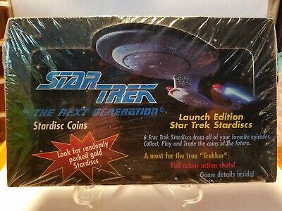 Details about  /1994 STAR TREK THE NEXT GENERATION COLLECTIBLE STARDISCS NEW