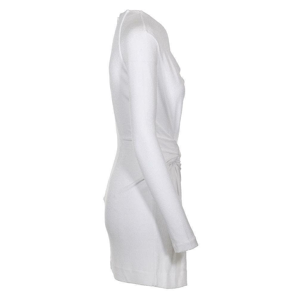 Mini Vestido Dion  Lee Doble Giro Asimétrico  mejor oferta