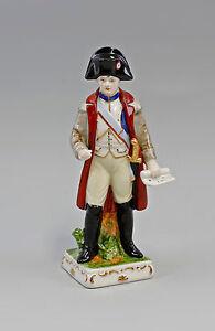 9942027 Porcellana Figura Napoleon Soldato wagner&apel H20cm